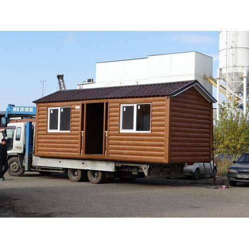 дачный домик размером 7х3х3м