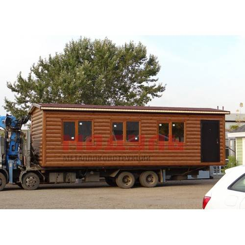 дачный домик размером 9х3х3м