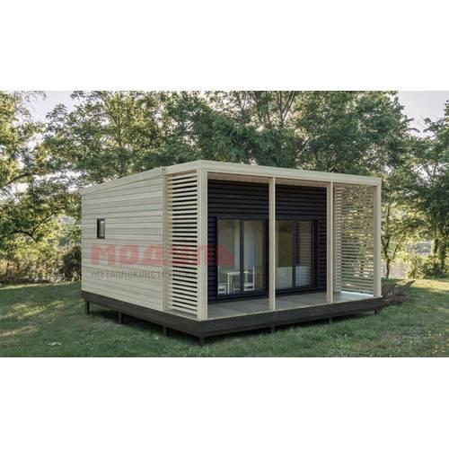 дачный домик размером 5х6х3 м