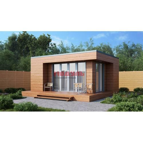 дачный дом размером 7х6х3.5 м