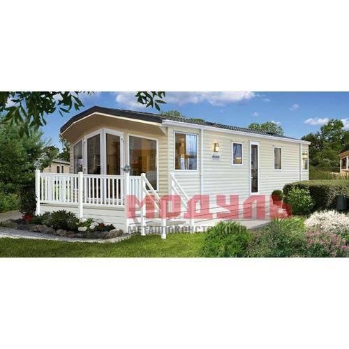 дачный дом с террасой размером 8х3х3 м