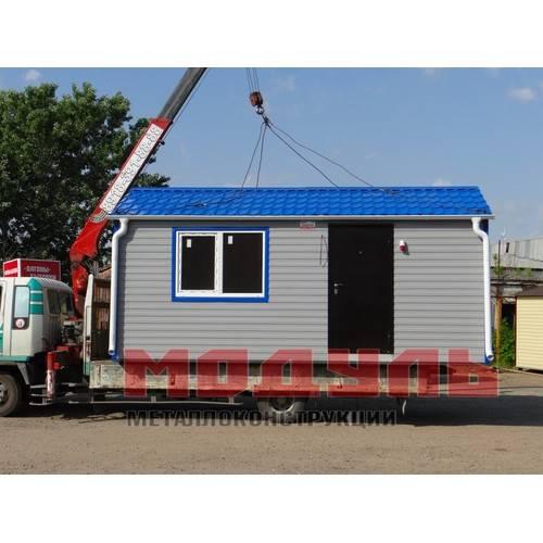курортный домик размером 6х3х3 м