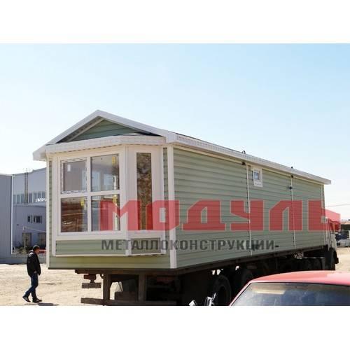 Дачный дом размером 12х3х3 м