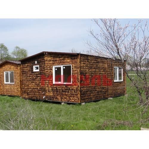 дачный дом размером 5х6х3 м