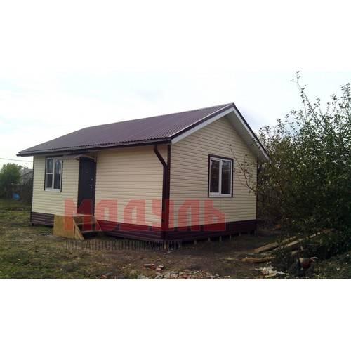 дачный дом размером 6х5х4 м