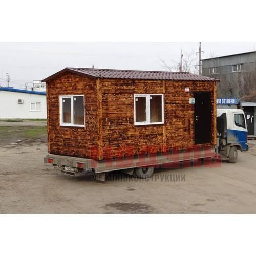 дачный дом размером 6х3х3 м
