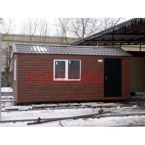 дачный дом размером 6х3х3 м с санузлом
