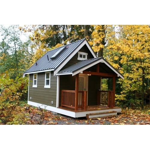 Дачный домик размером 5х3,5х4м