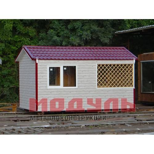 Дачный домик размером 5х3х3м