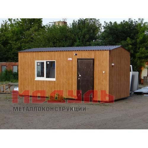 Дачный домик размером 6х3х3м