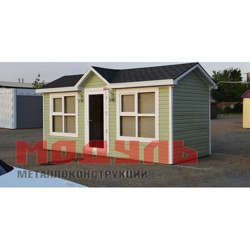 Дачный домик размером 6х2,5х3м