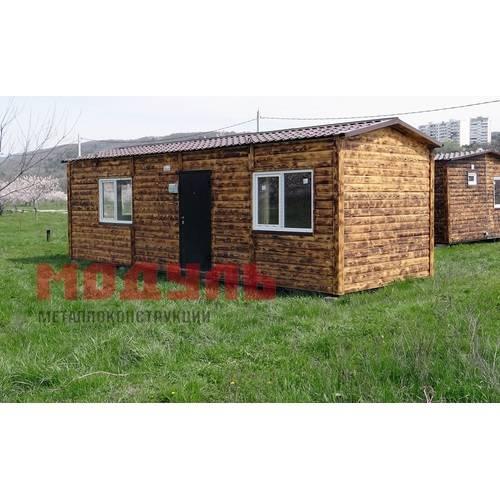 Садовый домик размером 9х3х3 м