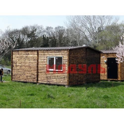 Дачный домик размером 6х5х3 м