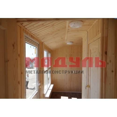 Отделка дачного домика внутри
