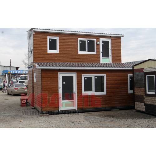 Дачный домик размером 7х3х3 м двух комнатный