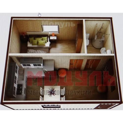 Планировка дачного домика размером 5х5 м