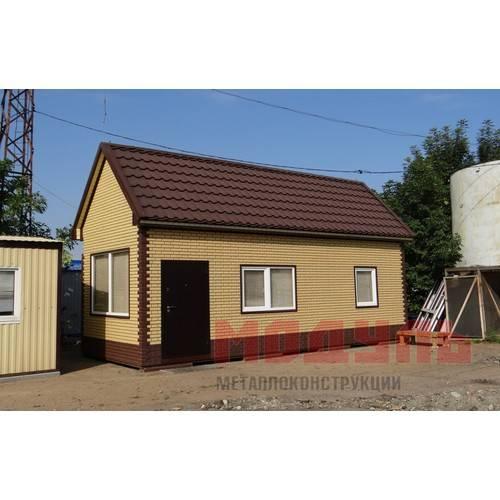 Дачный домик размером 8х3х4 м двух комнатный