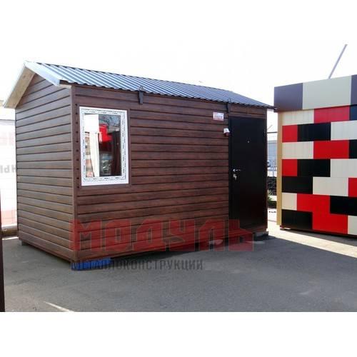 Дачный домик размером 4х2,5 м