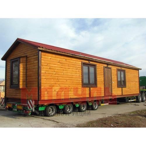 Мобильный дом размером 12х3 м
