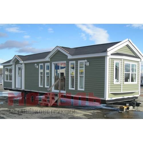 Дачный домик размером 12х3м