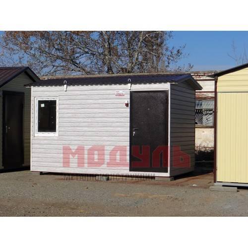 Дачный домик размером 4х2,5х3 м