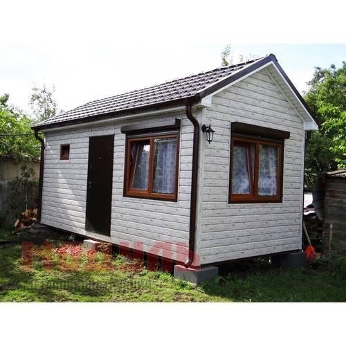 Дачный домик размером 6х3х3,5 м с сан узлом