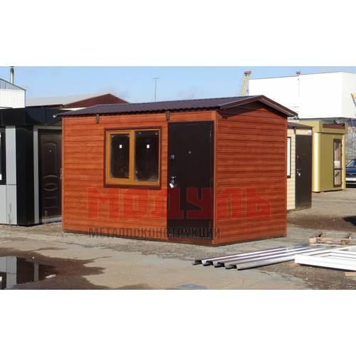 дачный домик размером 4х2,5х2,7 м