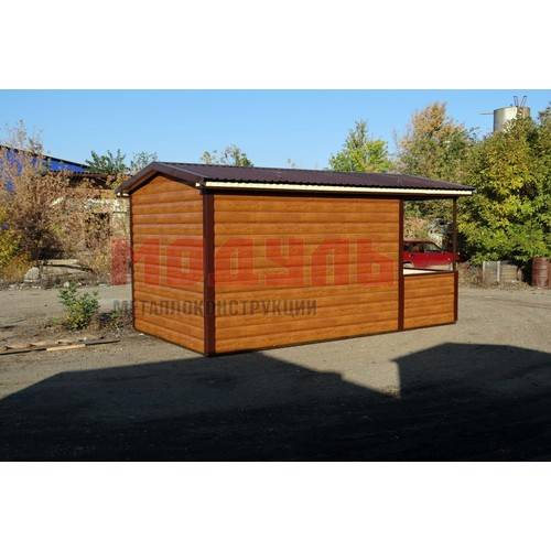 Дачный домик с верандой размером 5х3х3 м