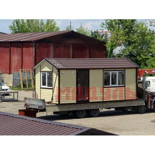 Дачный домик размером 7х3х3 м