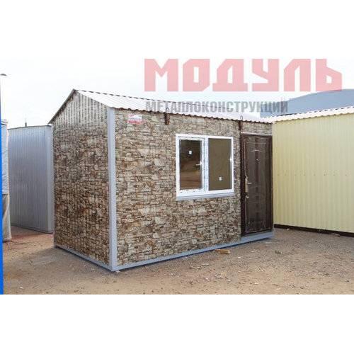Дачный домик размером 4х2,4х2,7 м