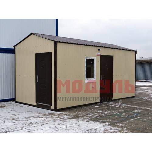 Дачный домик размером 6х3х3 м жилая комната и хозблок