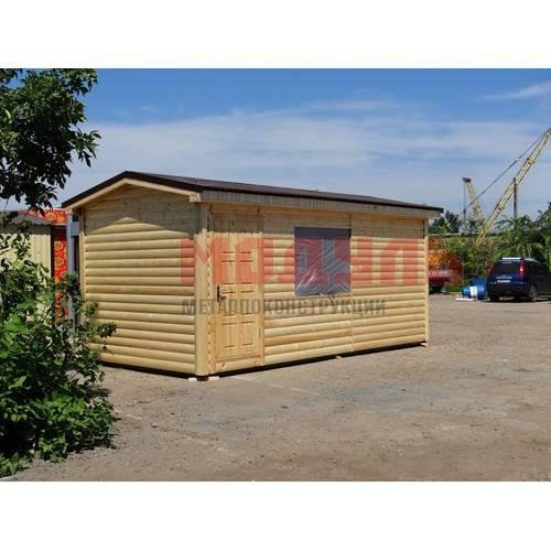 Дачный домик размером 6х3х3 м