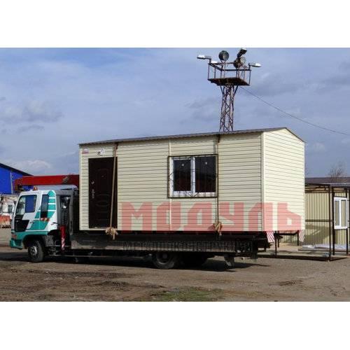 Дачный домик размером 6х3х3 м отделка с наружи сайдингом, прихожая и комната