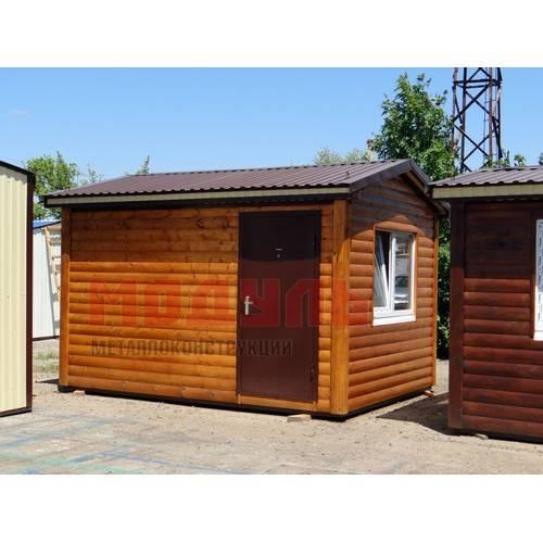 Дачный домик размером 4х3х3 м
