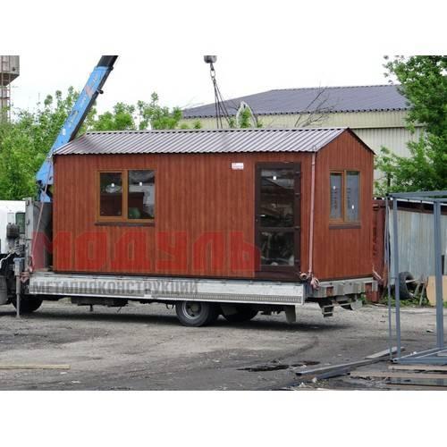 Дачный домик размером 6х2,5х2,7 м одна комната