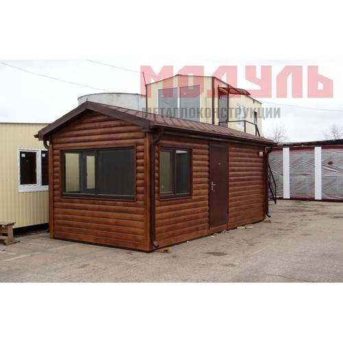 Дачный домик размером 6х3х3 м две комнаты и санузел