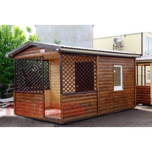 Дачный домик размером 5х3х3 м с верандой отделка внутри хвойная вагонка, утепленный