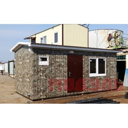 Дачный домик размером 6х3х3м санузел, кухня и комната