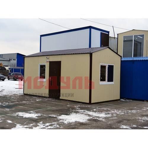 Дачный домик размером 6х3х3 м, состоит из 2-х комнат