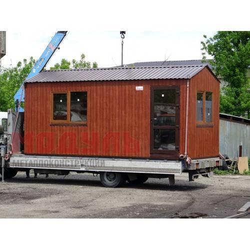 Дачный домик размером 6х2,5х2,7 м