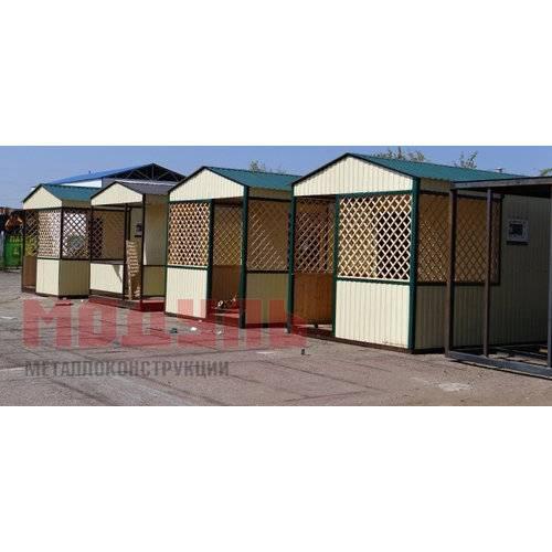 Курортные домики с санузлом, размер домика 7х3х3м