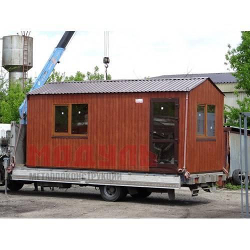 Дачный домик размером 6х2,5х3 м утепленный