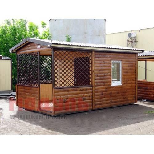 Дачный домик размером 5х3х3 м