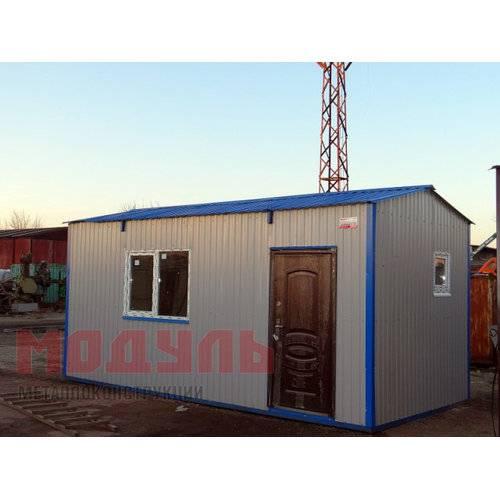 Дачный домик размером 5х3х3 м одна комната
