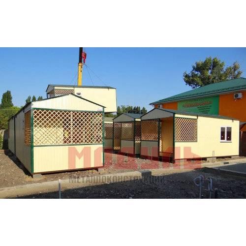 Домики для базы отдыха, утепленные для круглогодичного проживания, оборудованы санузлом