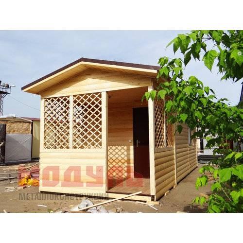 Дачный домик размером 8х3х3м, утепленный