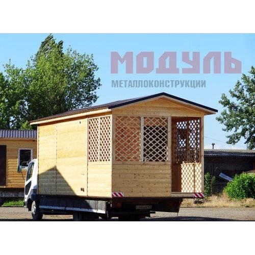 Садовый домик размером 7х3х3 м, утепленный, поделен на комнату, санузел, веранду и прихожую