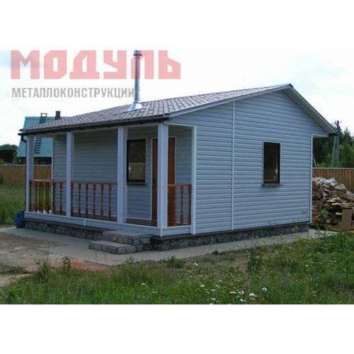 Садовый домик размером 6х5х4 м