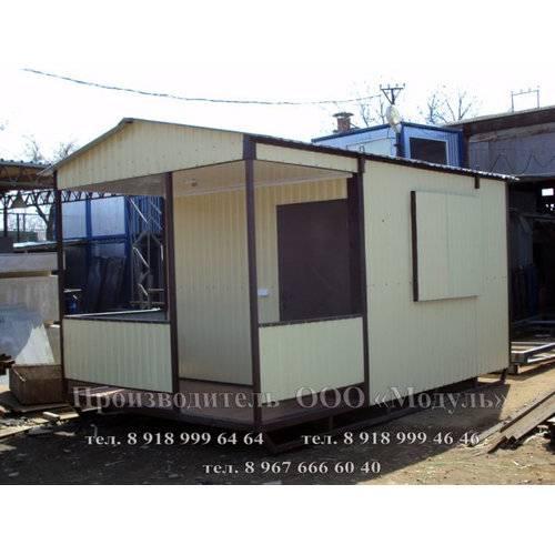 Садовый домик размером 5х3х3 м