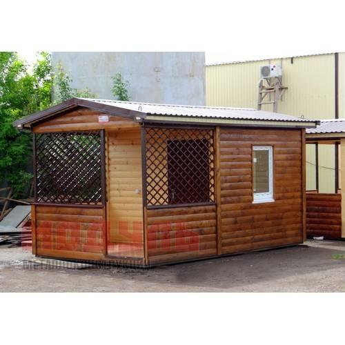 Садовый домик размером 5х3х3 м, утепленный
